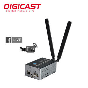 H265 Streaming Server Streaming 4g 3g WiFi IP Video Encoder Decoder IPTV Encoder Live-Stream RTMP Encoder