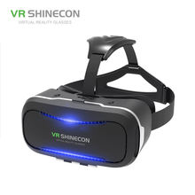 2018 New Virtual Reality 3D ps4 vr headset For Smartphone 3.5 inch ~ 6 inch with Retail Package
