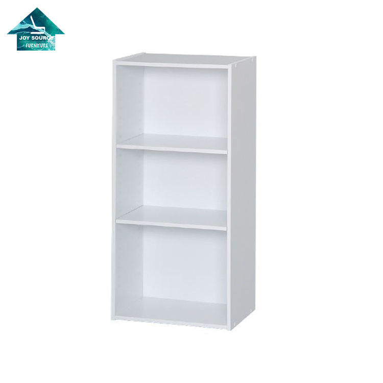 High Quality Wholesale Home Furniture floor type 3-Shelf Bookcase