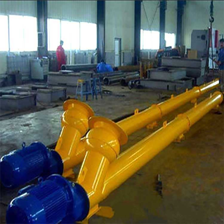 The screw conveyor is used to transport the bulk cement from the cement bin to the batching machine