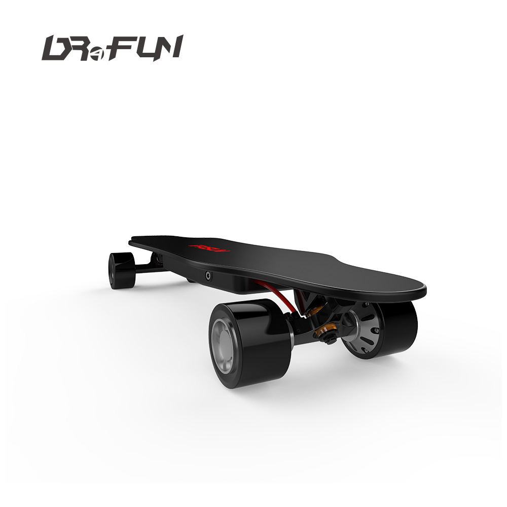 OEM Skateboard Manufacture Supply 35KM/H Cruiser 5'' Dual Motor Supreme Strong APP Control Skate Board