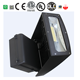 Manufacture wholesale area lighting IP65 ultra efficient 30w 20w full cutoff led wall pack light with adjustable head