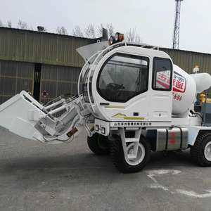 JBC2.6R Self Loading Concrete Mixer Truck