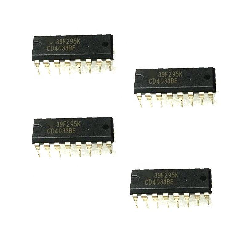 10 PCS HCF4017BE DIP-16 HCF4017 CD4017 COUNTERS//DIVIDERS NEW