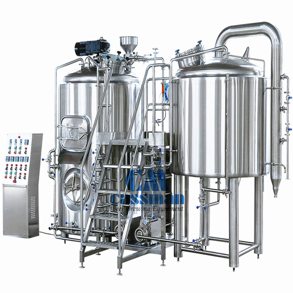 2000L Micro Beer Brewing Equipment For Ginger Beer