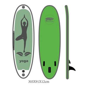 hot sale factory direct colorful inflatable sup yoga board