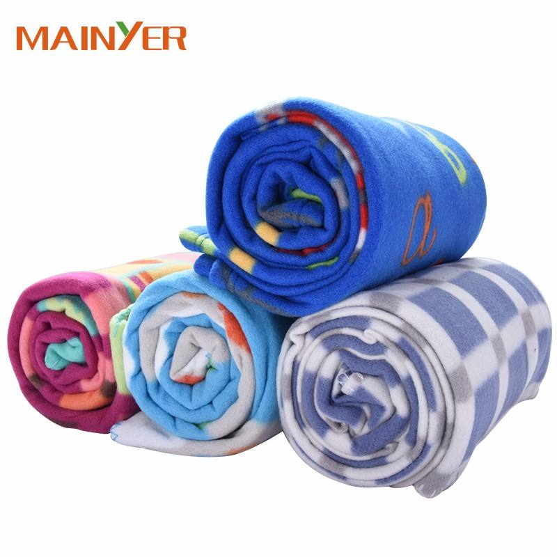 China wholesale Super soft weighted Fleece blanket