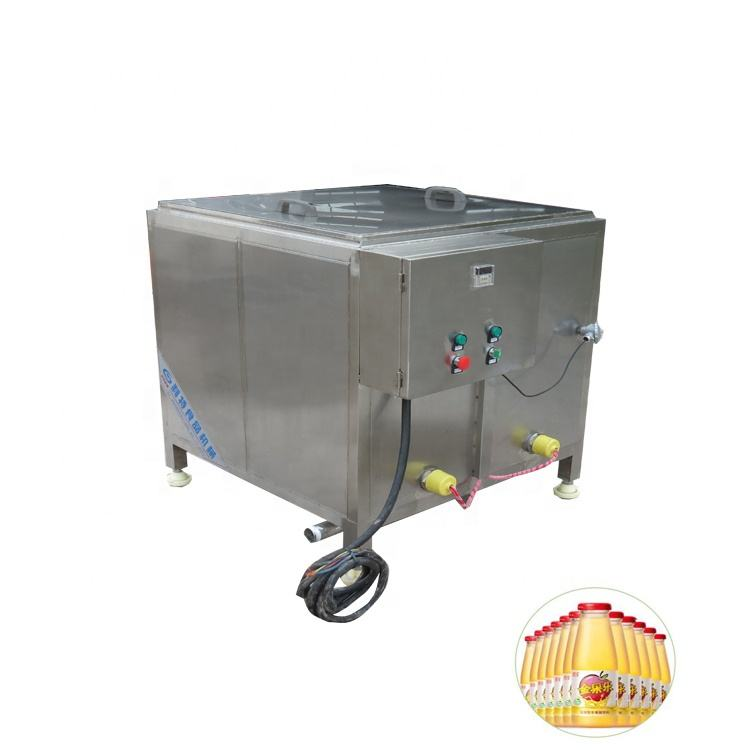 Small size juice flash pasteurization machine factory direct sales