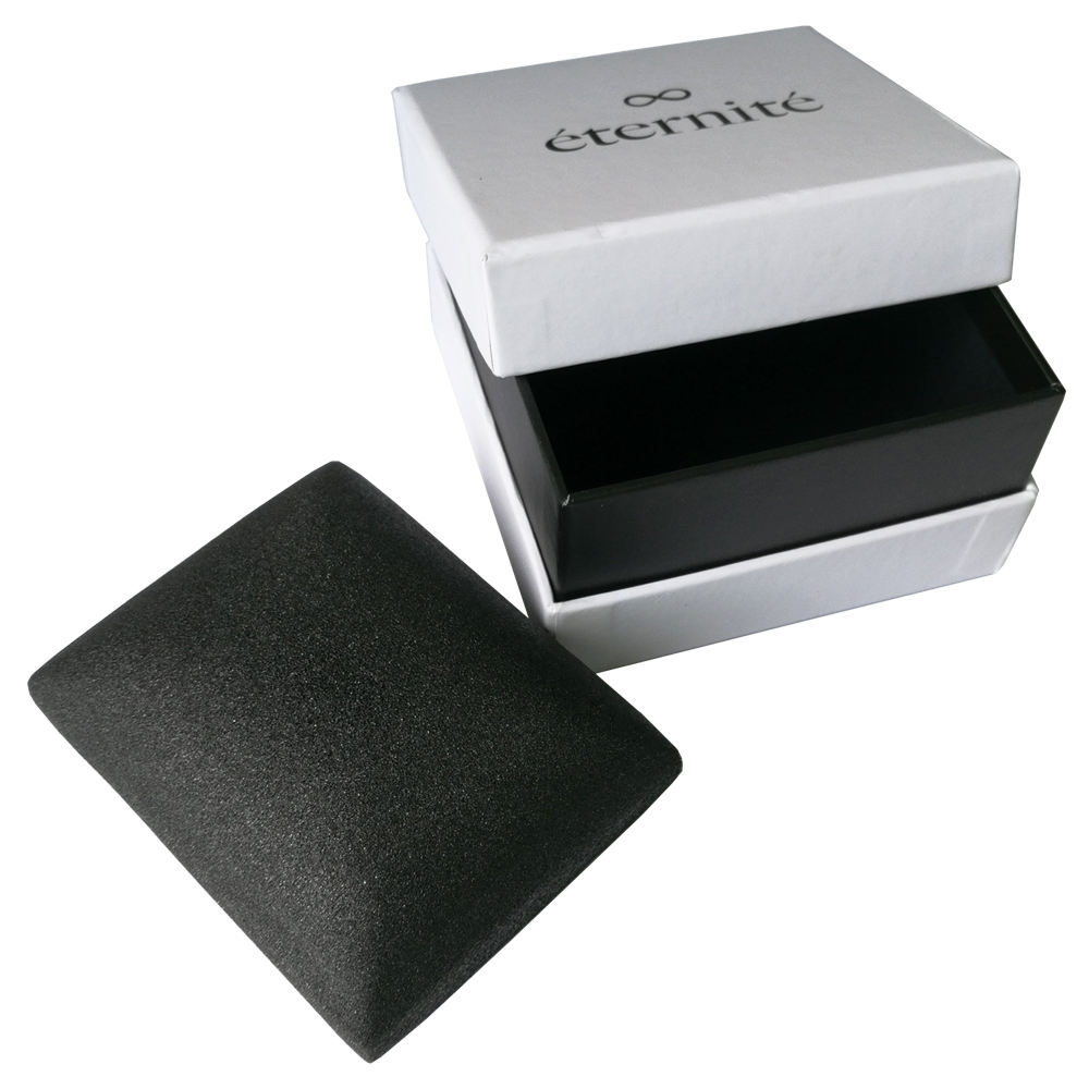 Custom logo luxury paper gift strap packaging watch box