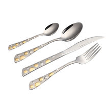 2019 New Promotion Flatware OEM Cheap 4 pieces Stainless steel cutlery