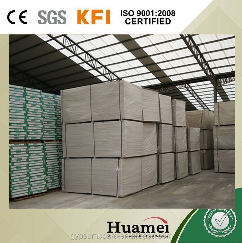 gypsum board standard size, wholesale plasterboard , drywall price