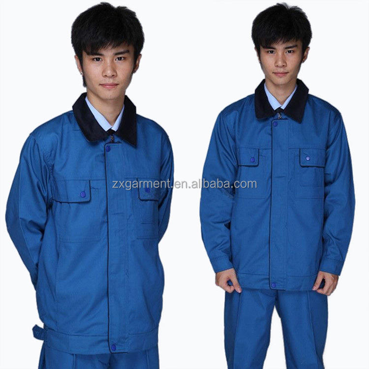 ZX Blue Corporate Overall Suit working uniform