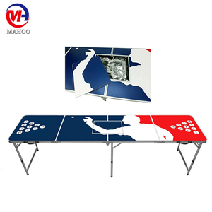 Custom Designs Best Folding Portable Beer Pong Tables for price sale