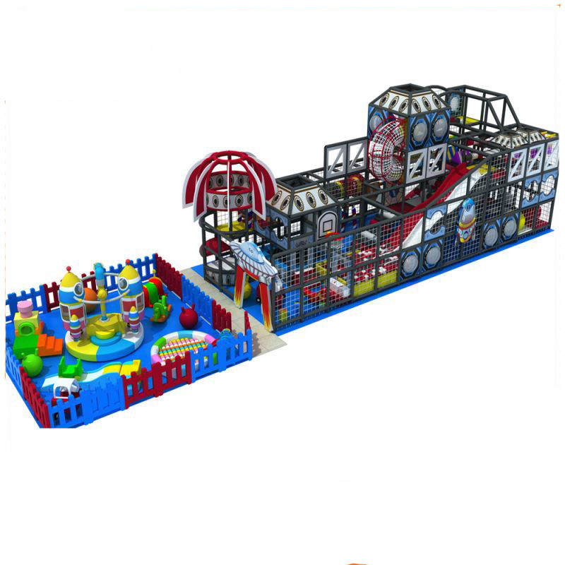 Space Theme indoor game zone suppliers soft play components for indoor playground