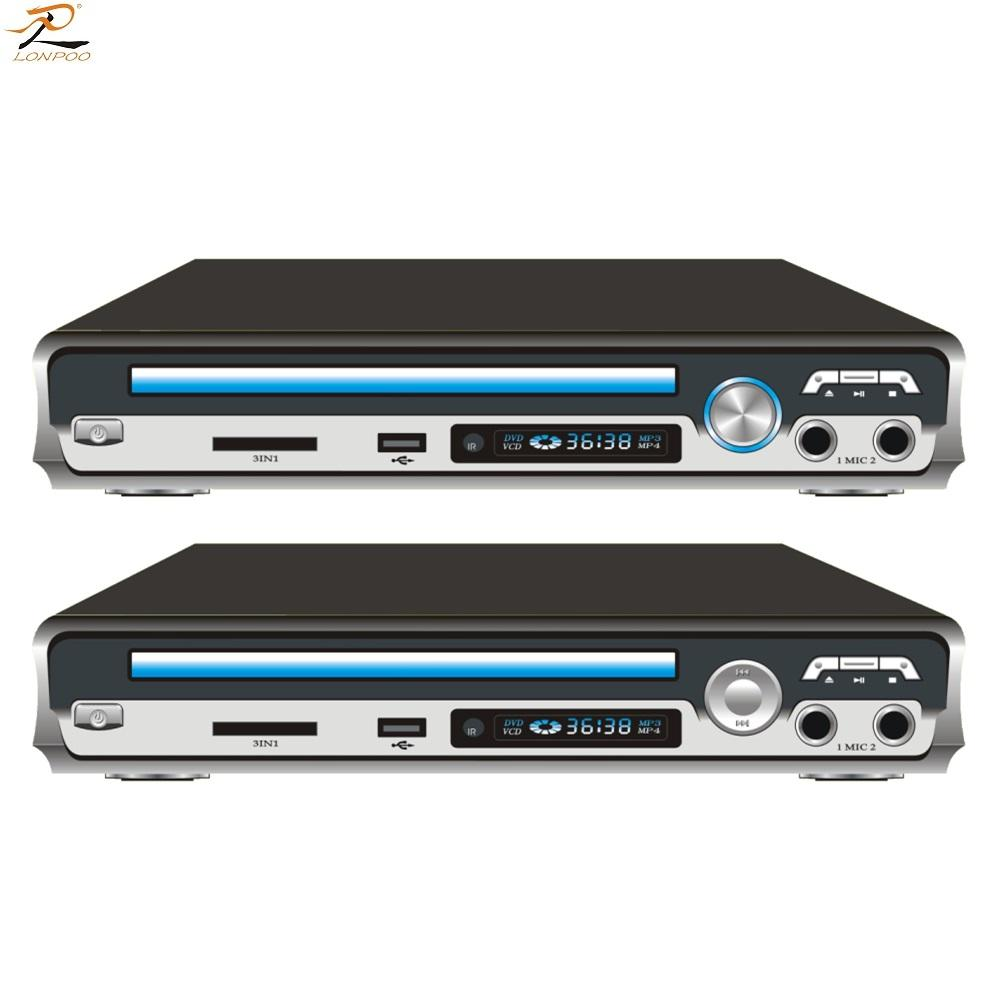 Factory price home mini DVD vcd game player