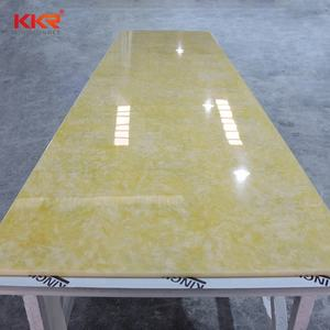Artificial Resin Stone Translucent Solid Surface Sheet