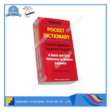 Wholesale custom professional Pocket English Dictionary with perfect binding