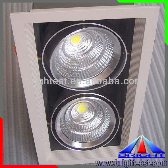 COB Pure Natural Warm Cold White 50W LED floor light