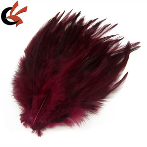 Alta Qualidade Hairbands Artesanais Decorativas Natural Hackle Feather Pad