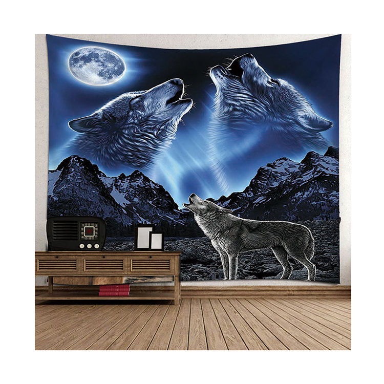 Wholesale custom christmas decor beaded wall tapestry manufacturer