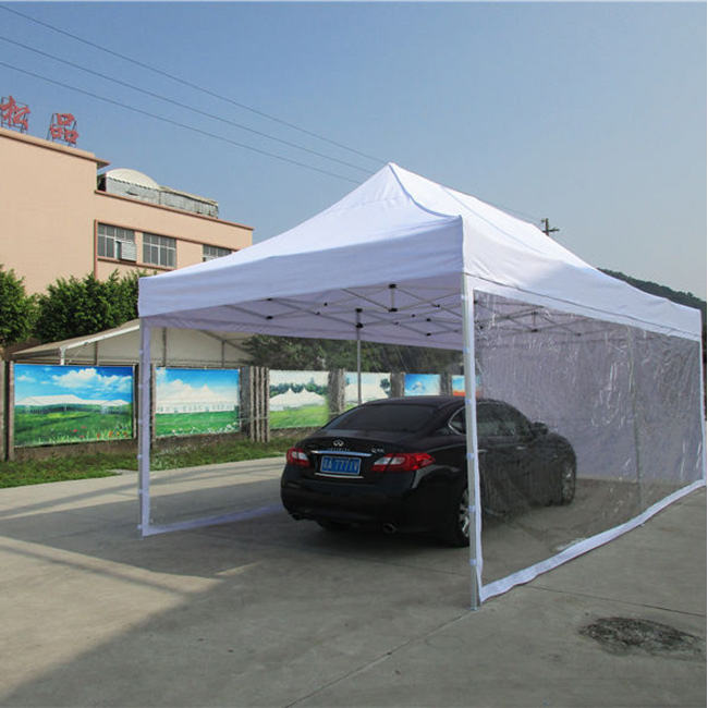 Large size canopy tent 4x8 windproof sunproof cheap Wedding car wash Parking tent
