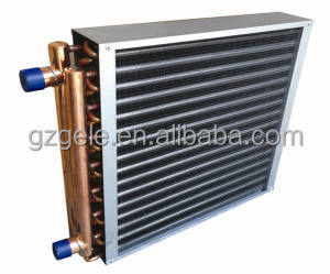 High pressure finned tube air heaters