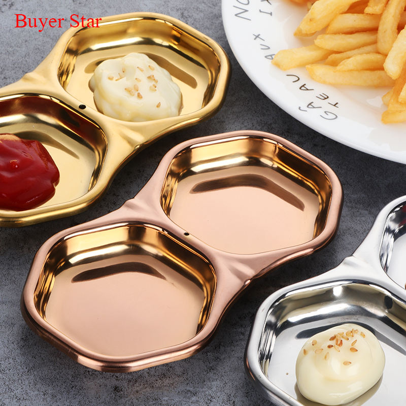 Dinnerware Sets Stainless Steel Buffet Platters Serving Dishes For Catering