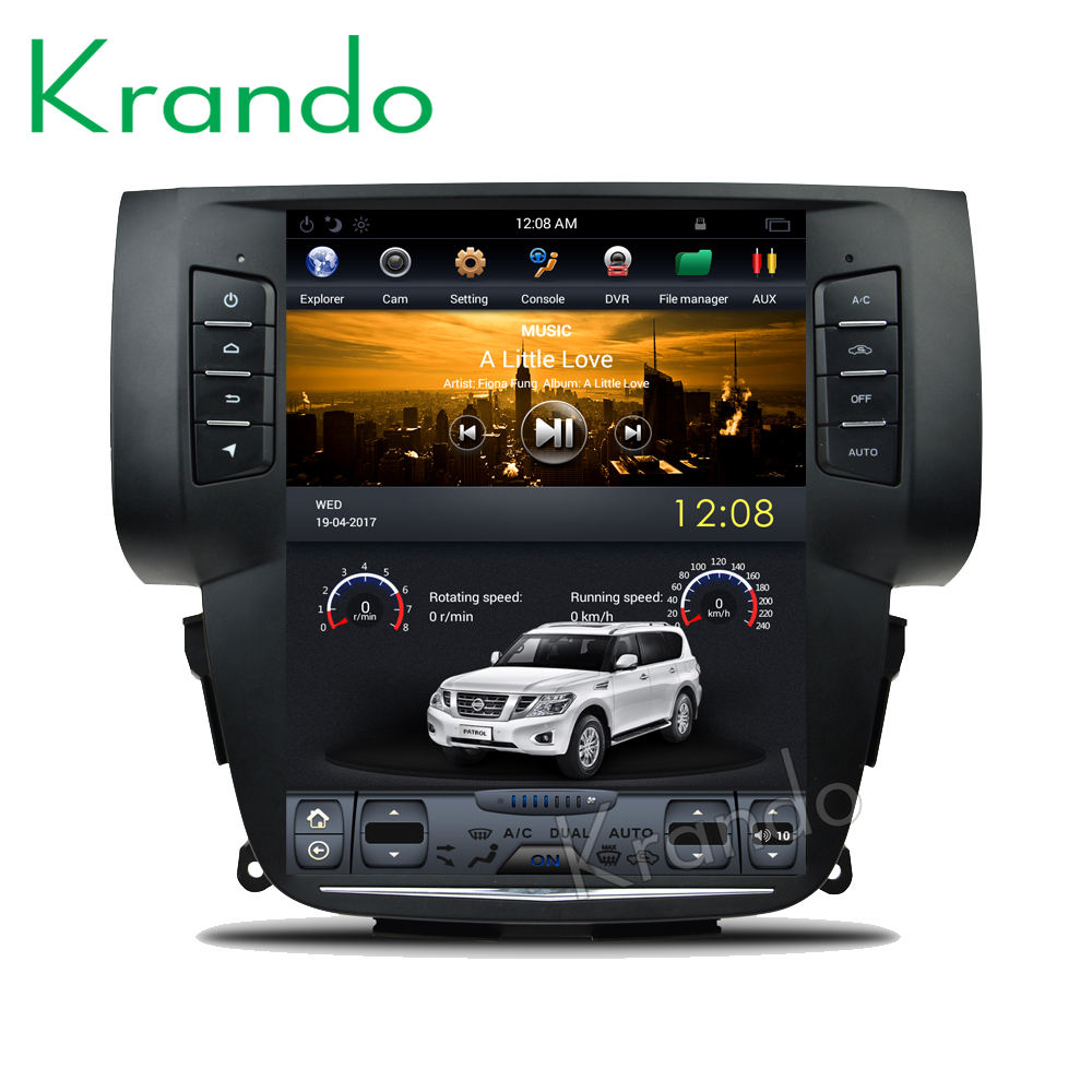 "Krando Android 9.0 10.4"" Vertical screen car stereo for Nissan sylphy B17 Sentra 2012-2017 car dvd player navigation KD-NV107M"