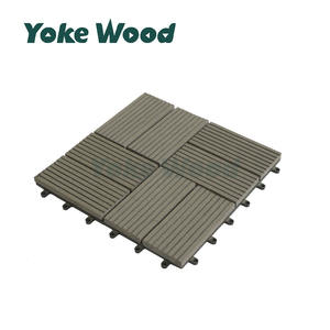 Anti-mould Freien Veranda Einfach DIY WPC Verriegelung Decking Fliesen/DIY Decking