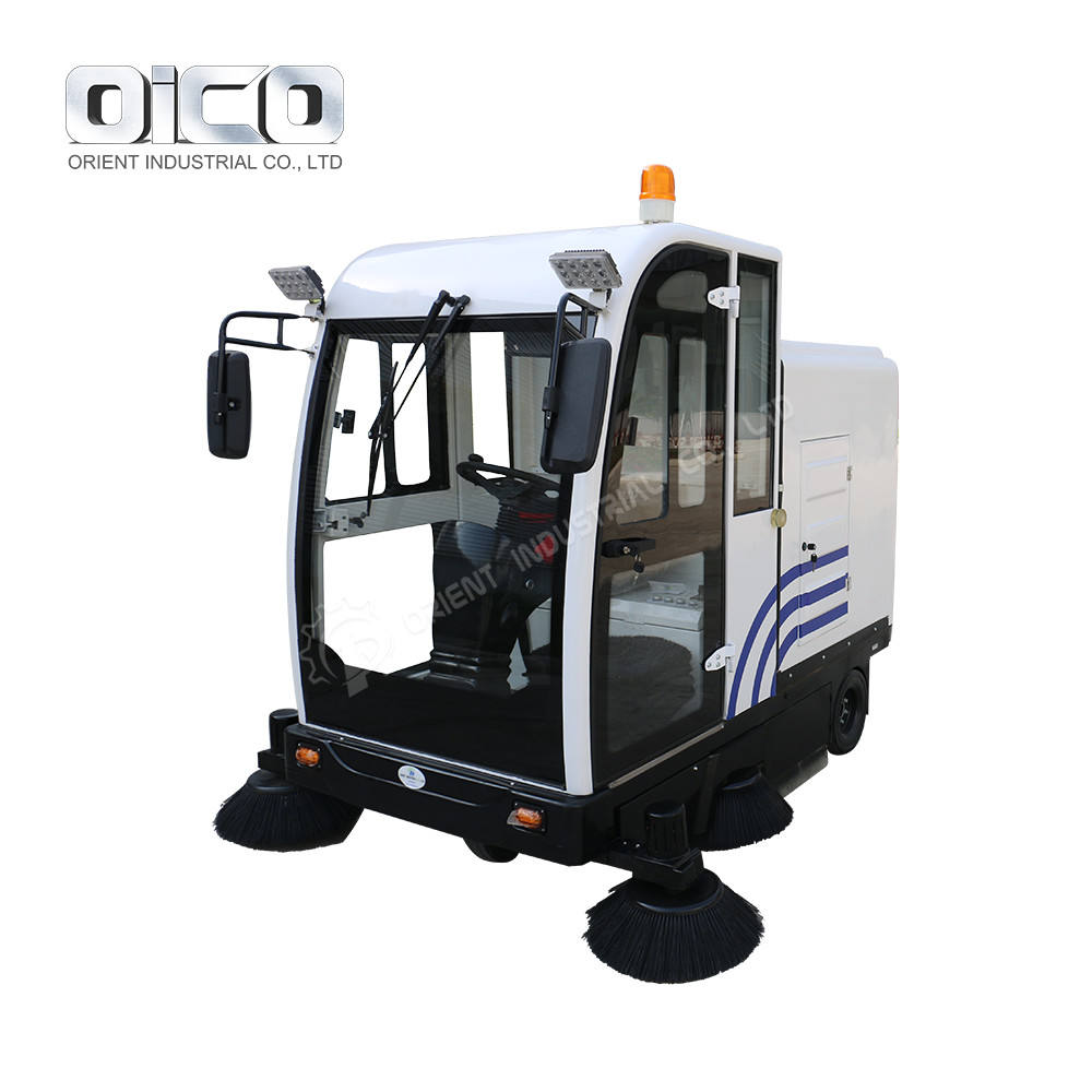 Hydraulic Industrial Electric Road Sweeper