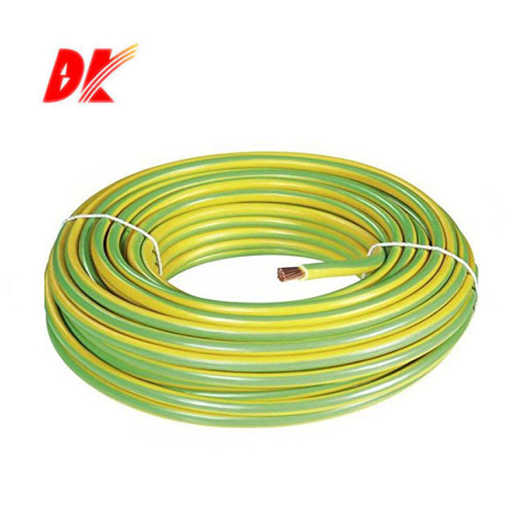 single core 16mm green yellow electrical ground cable price