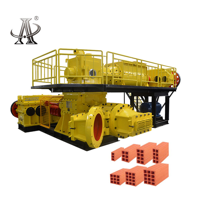 ATBrick JKY60 Soil Brick Making Machine Price For Pakistan Red Brick Automatic Production Line