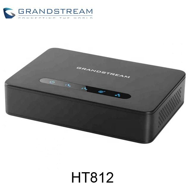 Grandstream SIP VOIP Gateway 2 Port ATA HT812