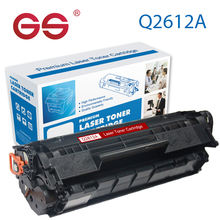GS Manufacturer Toner Cartridge Q2612A Compatible for HP Laser printer