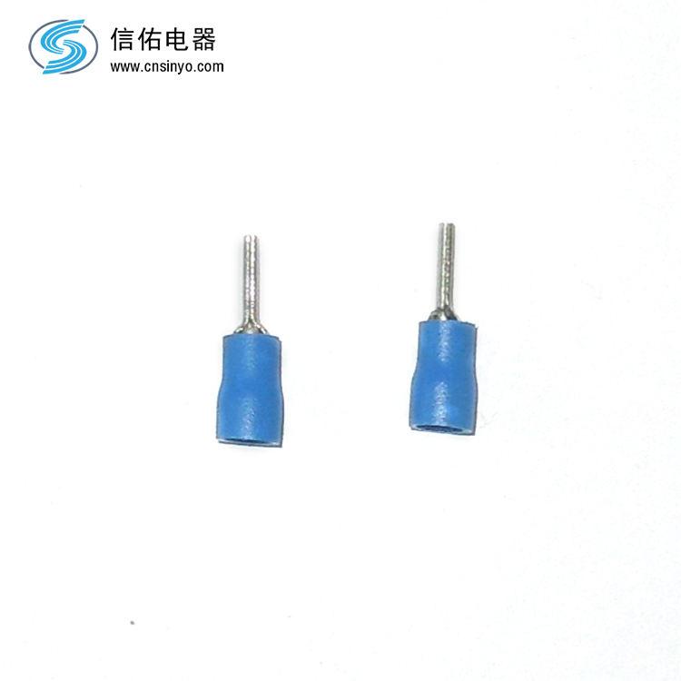 Joints de câbles électriques ptv pin en forme de pré-isolant terminal