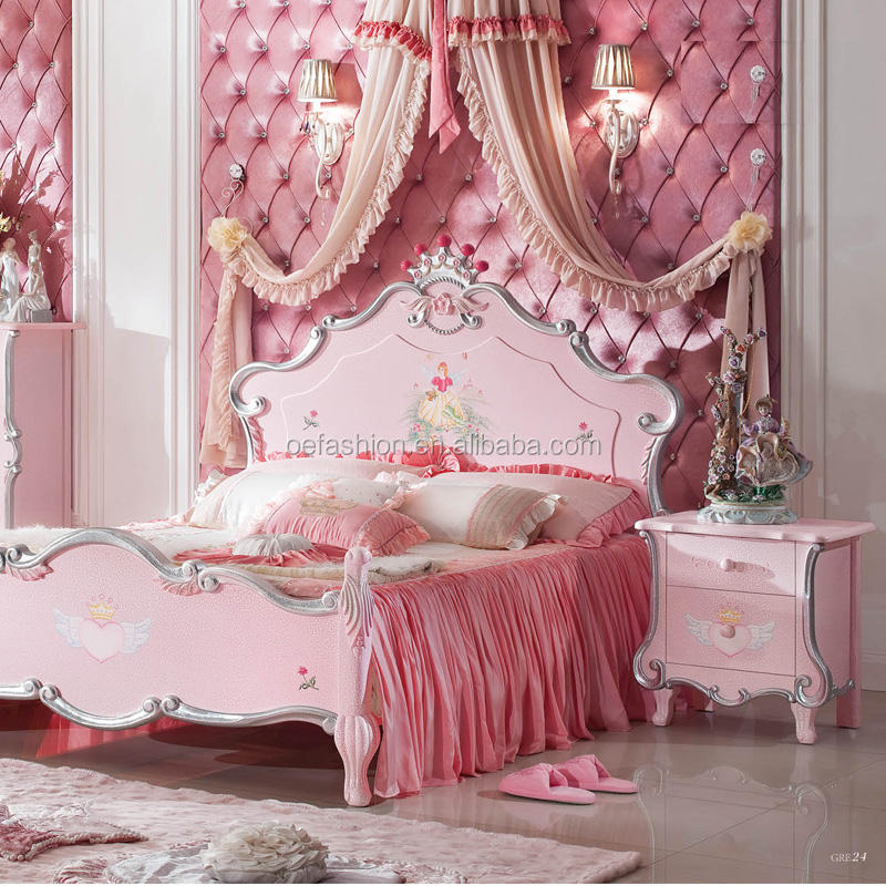OE-FASHION kid bedroom furniture set for girl
