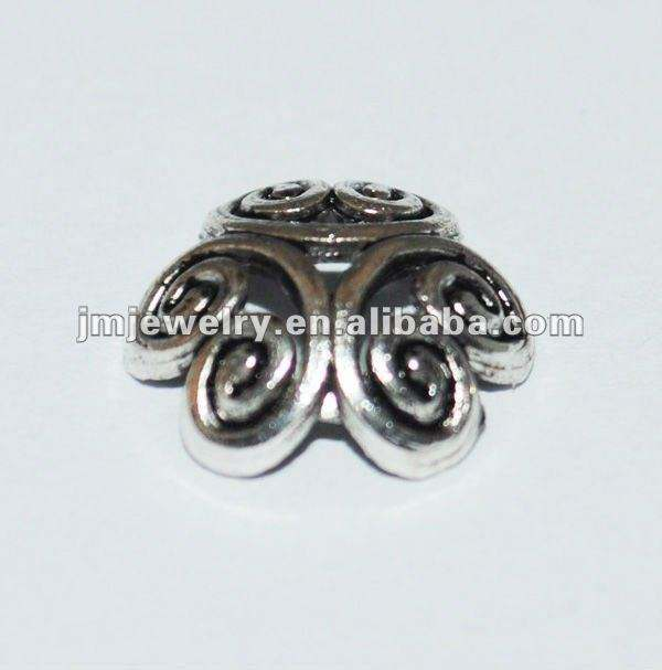 Simple Tiny zinc alloy exquisite flower beads cap for fashion jewelry accessories