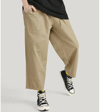 Fashion design wholesale street wear cargo khaki harem 3/4 pockets work women stretch pants mens cargo pants