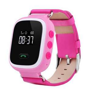 Smart baby watch Q60 kiddy watch with sim card slot_HL594