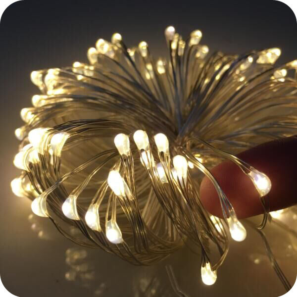 Best selling product christmas supplies item battery operated electric led copper fairy lights