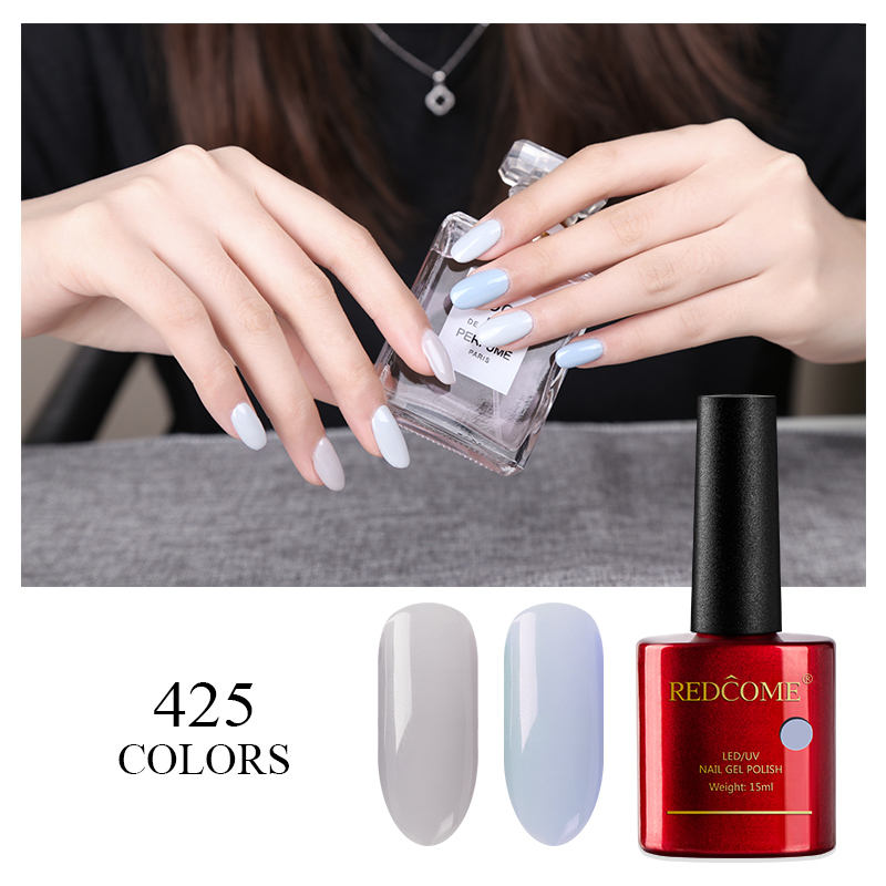 Cco 303 redcome gel Etiqueta Privada esmalte color de esmalte de uñas UV LED gel