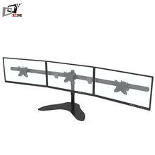 Articulating Swivel Laptop Triple LCD Monitor Stand For Desk