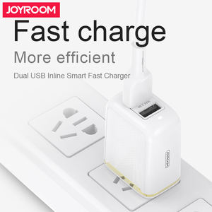 Joyroom Travel Charger USB 5 V Dinding Dual USB Charger Adaptor Uni Eropa Plug