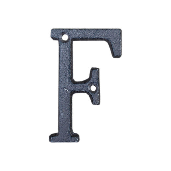 High quality customized cast iron wall decor house number