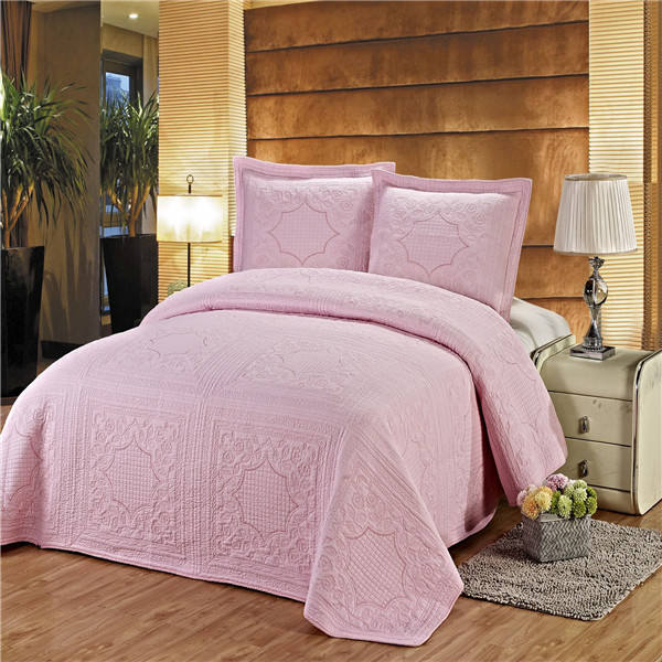Made in China Cotton embroidered Bedspread