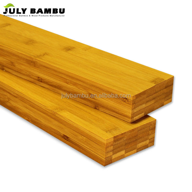 First Grade Laminated Bamboo Structural Beam For Furniture