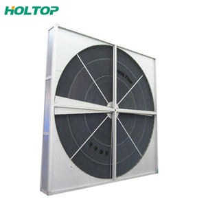 Industrial heat exchanger air to air rotary heat recovery wheel