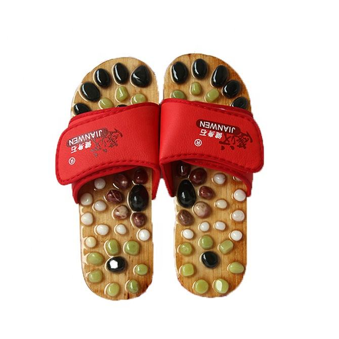 New Arrival summer acupuncture massage slippers for men and women