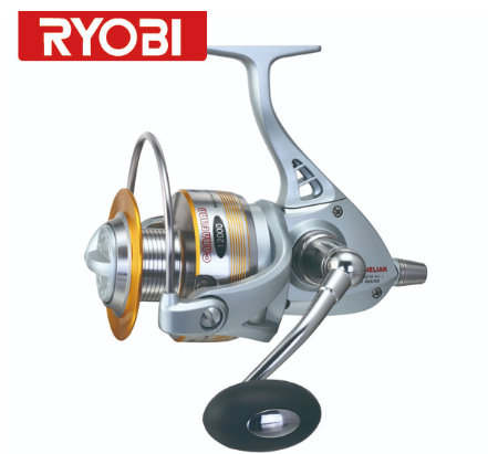 RYOBI 12BB CARNELIAN sea fishing reel 10000 Full Metal Body Big Game Spinning Fishing Reel Sow jigging reel made in Japan
