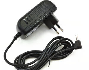 Switching AC DC Adaptor 5 V 9 V 12 V 24 V Power Adaptor 0.5A 1A 1.5A 2A dengan 3.1*1.1*10 Mm Plug DC